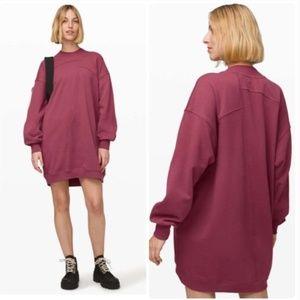 Lululemon Broken Beats Sweatshirt Sweater Dress